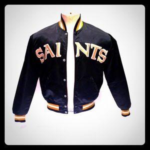 New Orleans Saints vintage Starter jacket satin